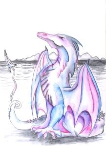 dragon art, dragon drawing, purple dragon, watercolor dragon, dragon painting, dragon illustration, dragon artist, fantasy artist