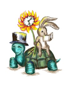tortoise and the hare, turtle and the hare, nursery rhyme art, turtle wall art, rabbit wall art, bunny nursery, turtle nursery, turtle prints, bunny printables, printable kids art